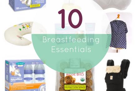 10 Breastfeeding Essentials