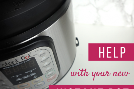 help with your new instant pot