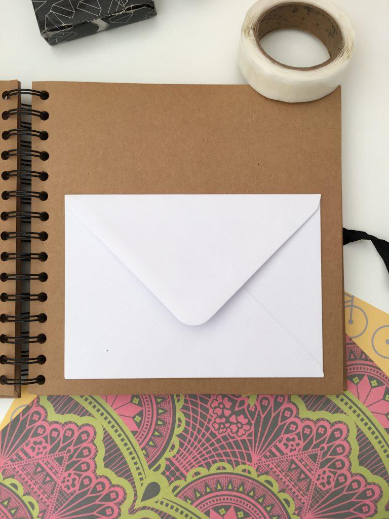 sticking envelopes for lifebook