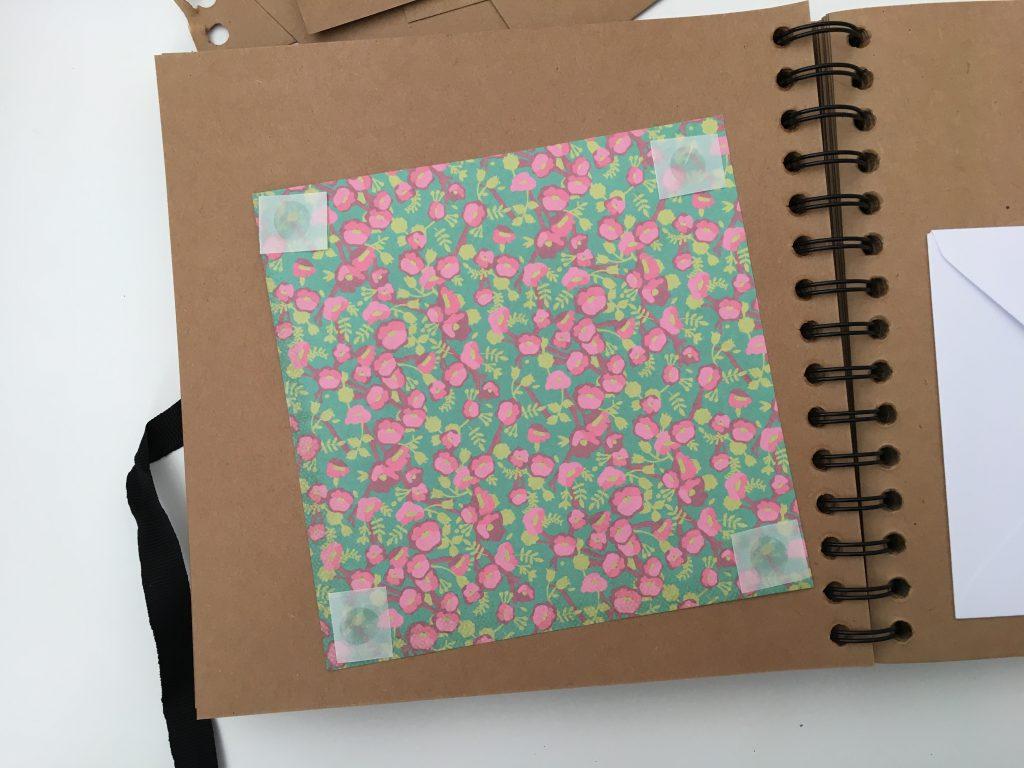 scrapbooking paper lifebook