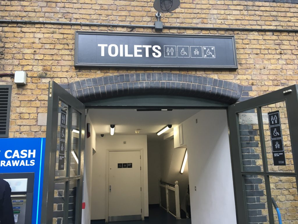 toilets old spitalfields market