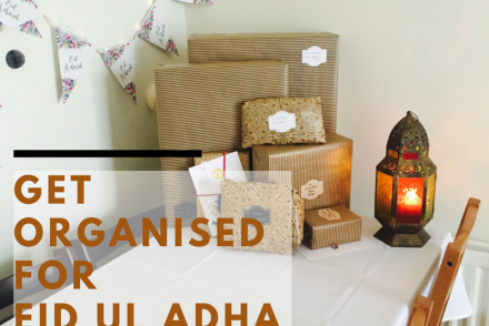 Get organised for Eid Ul Adha