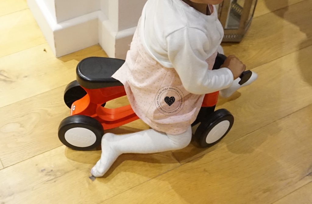 ToddleBike2 review around the house