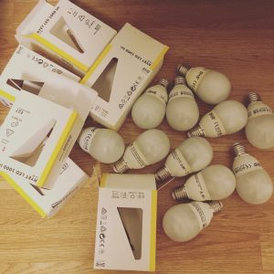 IKEA LED bulbs
