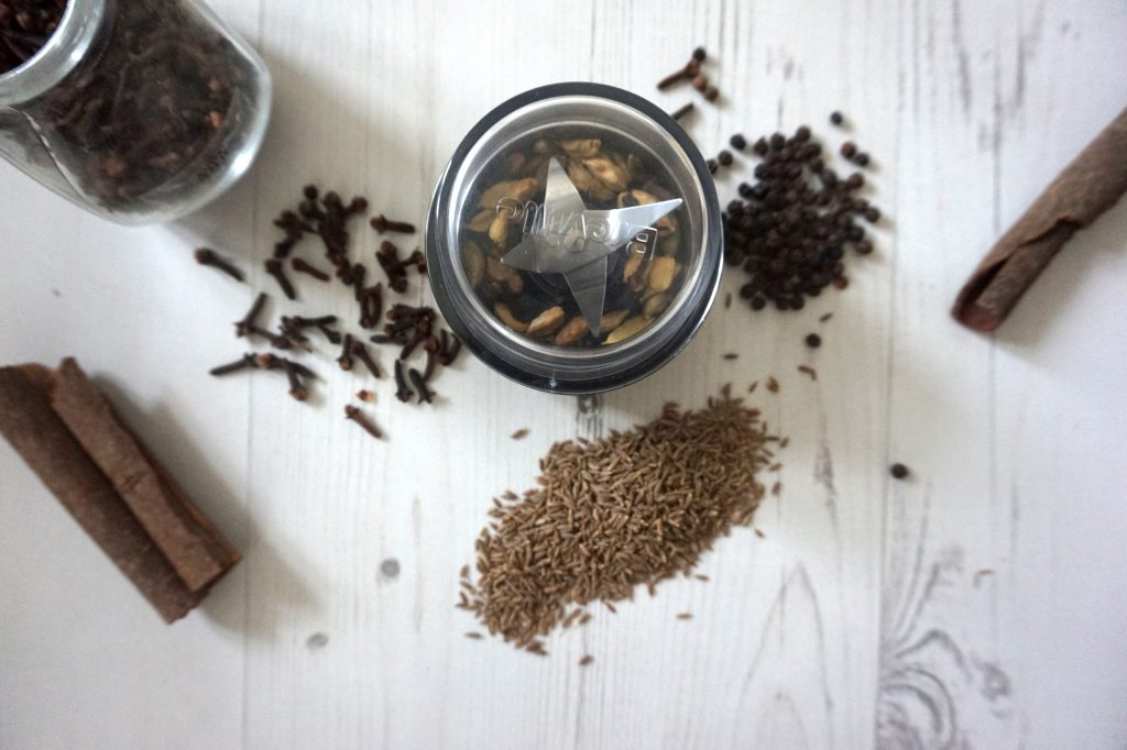 homemade garam masala recipe