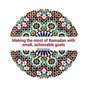 easy ramadan goals
