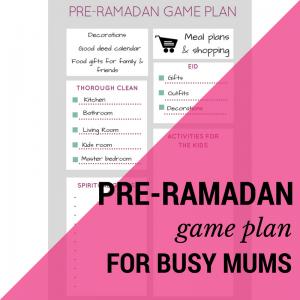 ramadan for busy mums