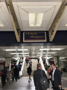 liverpool street station exit for old spitalfields market