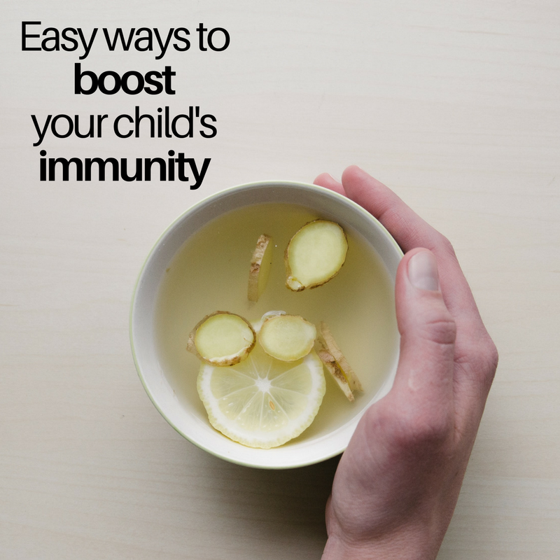 boost your child's immunity