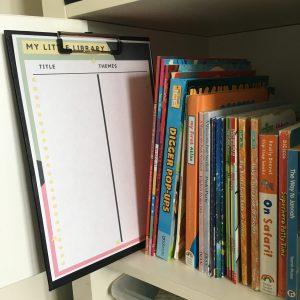 book list printable
