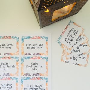 ramadan good deed card printables