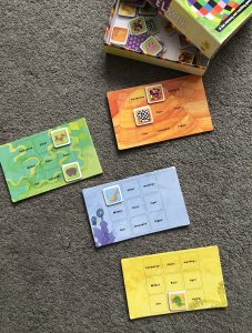 Elmer lotto game to help your child to talk